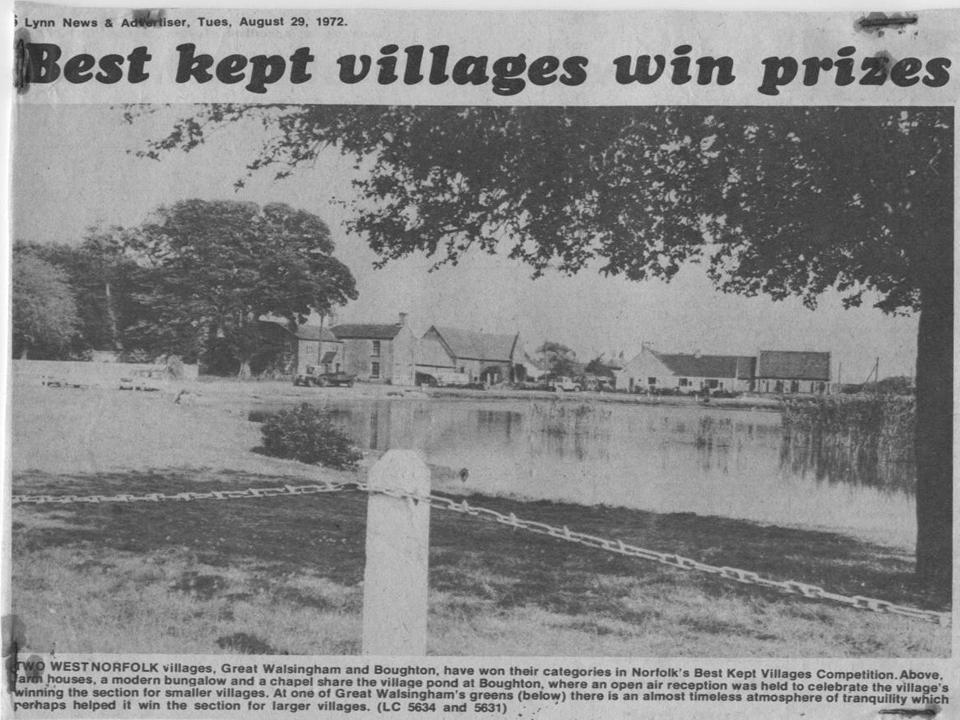 Best Kept Village 1972