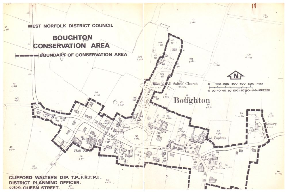 Conservation Area Boundary, Boughton