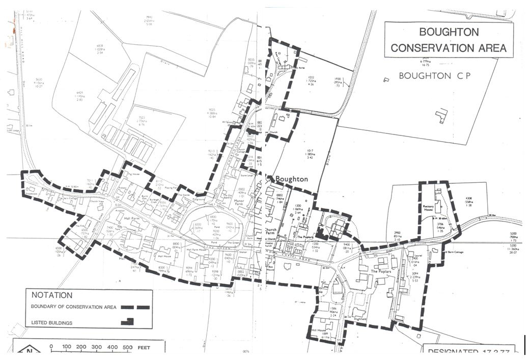 Conservation Area Boundary Re-Designation, Boughton